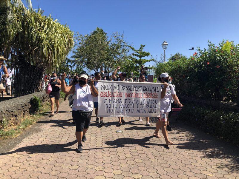 Manifestation anti oblication vaccin covid