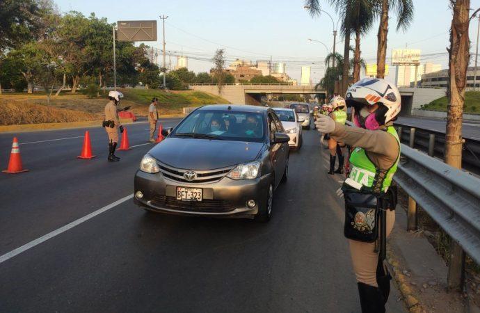Elecciones 2021: Autos particulares podrán circular el 11 de abril
