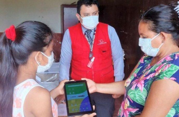 Amazonas: Contraloría verifica entrega de tablets a escolares y docentes