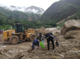 Continúan trabajos de recuperación en carretera Pedro Ruíz – Chachapoyas