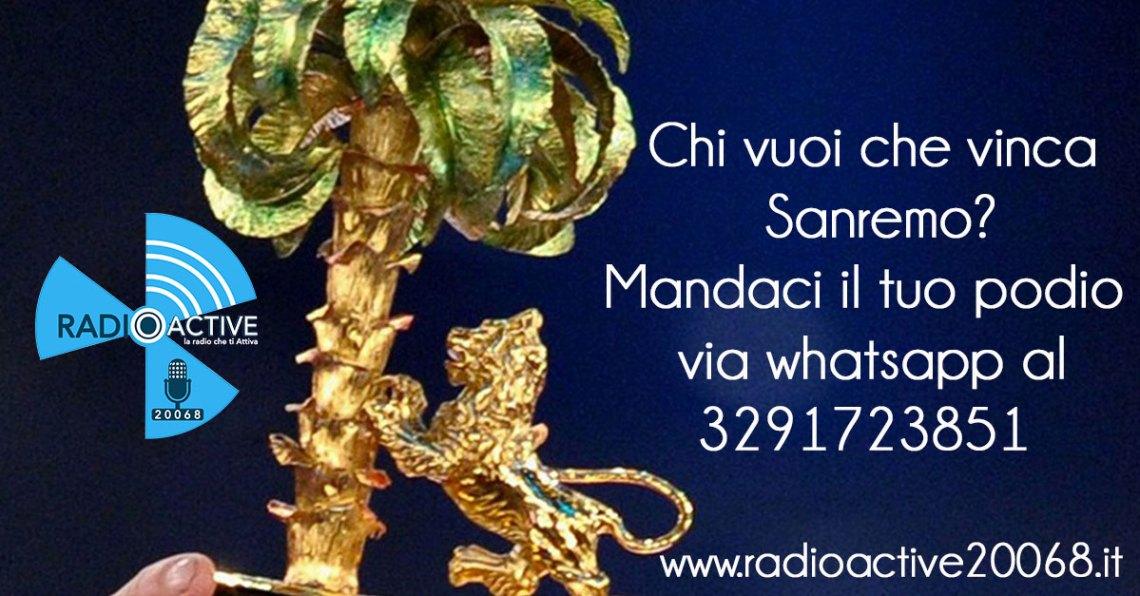Chi vuoi che vinca Sanremo?