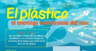 """Promueve DIF Municipal Concurso de Dibujo """"El Plástico, el enemigo Monstruoso del Mar"""""""