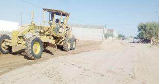 Realiza Ayuntamiento Mantenimiento de Calles en Pto. San Carlos