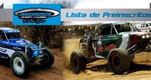 Todo Listo Para 3era. Carrera puntuable del Campeonato OFF ROAD pista Baja Sur 2017
