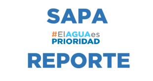 #ElAguaEsPrioridad reporte SAPA, 25 octubre 2017