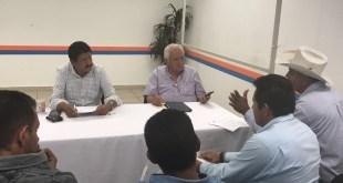 Mantenemos comunicación directa con los representantes de las Delegaciones y Subdelegaciones: Alcalde de La Paz