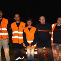 Exercice nocturne à Bazoches sur Hoëne (61) pour les radioamateurs de l'Adrasec 61