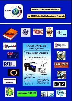 La Revue Radioamateurs France RAF 11-Semaine 34-2017