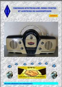 Chronique Ecoteurs SWL OC et Auditeurs de Radiodiffusion S43-20102015
