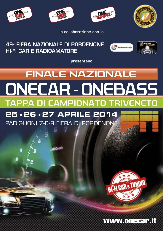 one car one bass 01 Attività Hi Fi Car Tuning alla Fiera del Radioamatore 2014