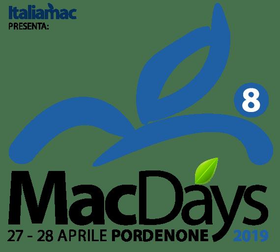 Logo MacDays 2019 570 MacDays by Italiamac alla fiera di Pordenone