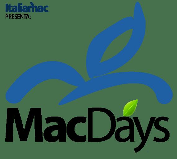 Logo MacDays generico MacDays by Italiamac alla fiera di Pordenone
