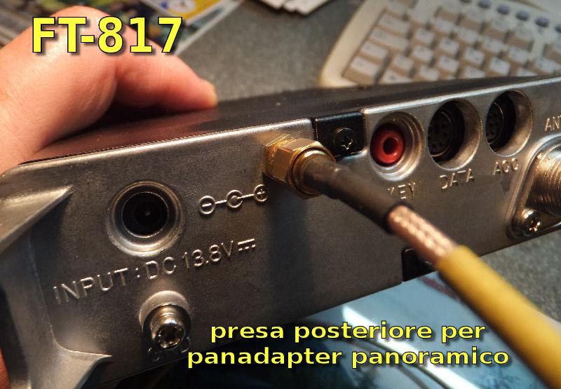 Panadapter Yaesu FT-817, 897, 857 RTL2832u out IF MF 68,33