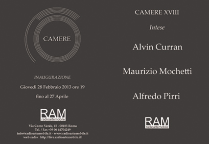 Invitation to CAMERE XVIII