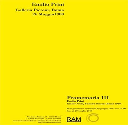 Invitation to Premomoria III Prini