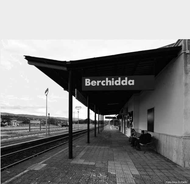 Berchidda's station, Sardinia