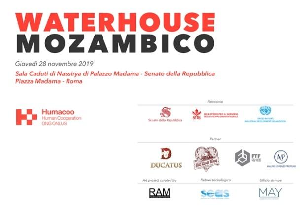 Invitation Card for Waterhouse Mozambico