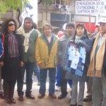 El reclamo de justicia por Iván Condorí llegó a Buenos Aires