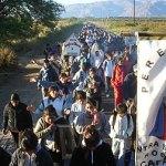 Devotos de todo el valle rindieron culto a San Carlos Borromeo
