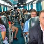 Se realizó el viaje inaugural de Flecha Bus a Cafayate