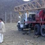 Comenzaron las obras del pozo para los 576 terrenos
