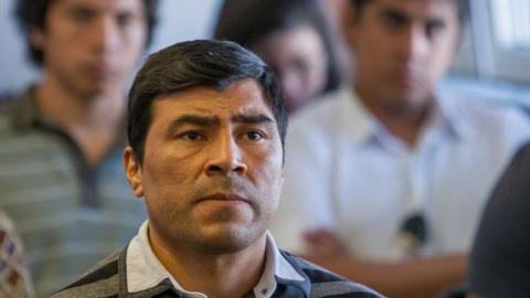 Franco Fabián Magno durante el juicio. Foto gentileza diario El Tribuno