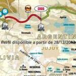 Rally Dakar: Se filtró el mapa de la 7º etapa