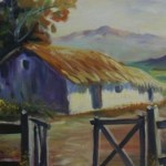 Exposición de pinturas de la plástica salteña Lucrecia Valdez