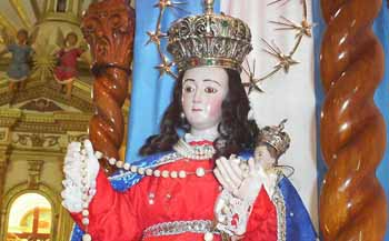 Virgen del Rosario, La Sentadita