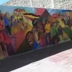 Inauguraron el Mural N° 17