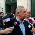 Juan Carlos Romero votó temprano en la Escuela Urquiza de Salta