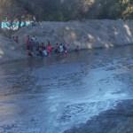 """El agua del Chuscha refrescó del """"veranito"""" invernal"""