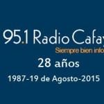 Radio Cafayate cumplió 28 años