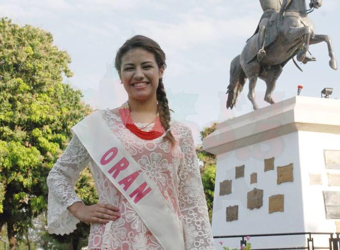 Camila Ayelén Perez - Orán. Fotos FM Alba 89.3 Mhz Tartagal