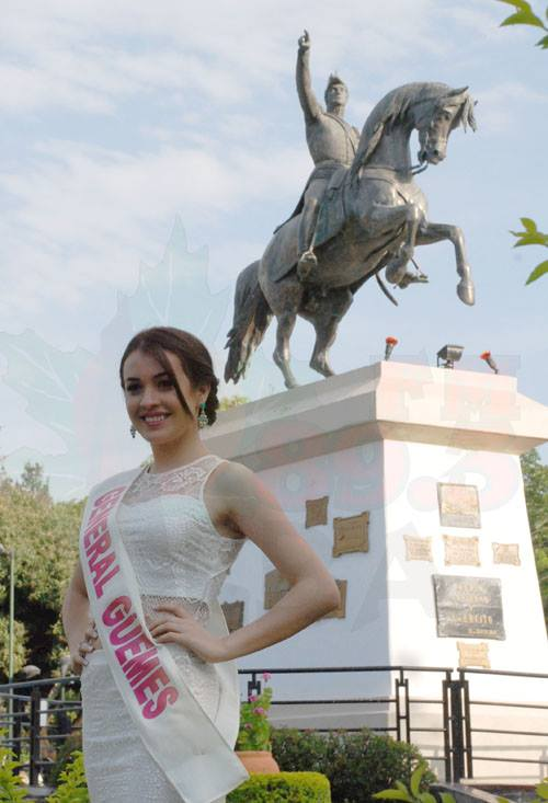 Luz Guadalupe del Cont - Gral. Güemes. Fotos FM Alba 89.3 Mhz Tartagal
