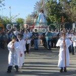Cerca de tres mil personas en la procesión de Cafayate