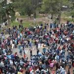 Desde La Viña caminan cerca de mil quinientos peregrinos