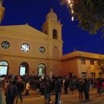 """Devoción por """"La Sentadita"""" en el Rosario del Alba"""