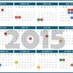 ¿Cuántos feriados quedan en 2015?