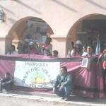 Los peregrinos de Molinos llegan tras caminar cuatro días
