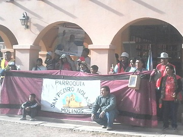 Los peregrinos de Molinos en Animaná