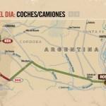 Dakar, día 1: de Rosario a Villa Carlos Paz, por las cumbres
