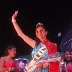Jazmín Alfonso es la Reina de los Estudiantes de la Técnica 3142
