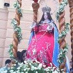 """Cafayate honra con devoción y fe a """"La Sentadita"""""""