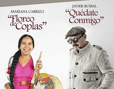 Mariana Carrizo y Javier Ruibal