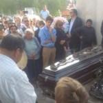 Congoja y reconocimiento en el último adiós a Arnaldo Etchart