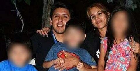 Damián Asiar y su familia fueron atacados salvajemente