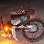 Murió un motociclista muy cerca de Cafayate