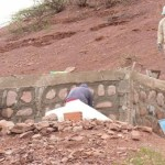 Avanzan obras de agua para 20 familias de Santa Bárbara
