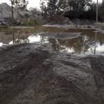 Un desborde en el Río Chuscha hizo crecer la preocupación